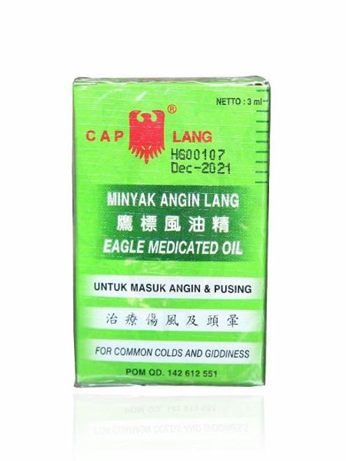Cap Lang - Eagle Brand Medicated Oil, 3ml