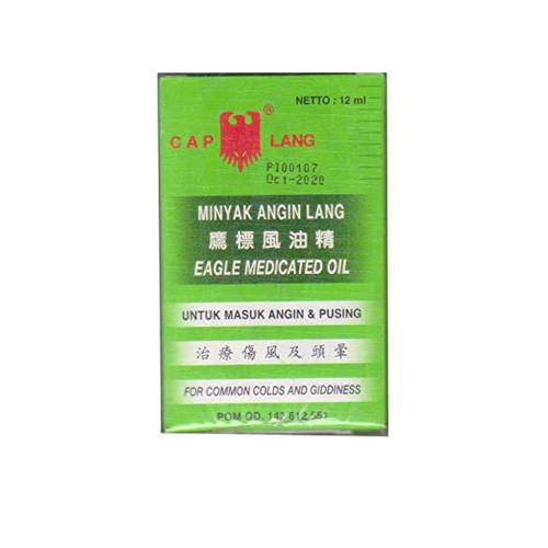 Cap Lang - Eagle Brand Medicated oil, 12 Ml