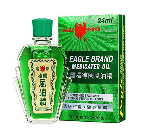 Cap Lang - Eagle Brand Medicated oil, 24ml