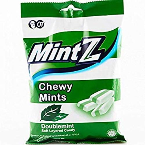 Mintz Chewy Candy Doublemint, 125 Gram