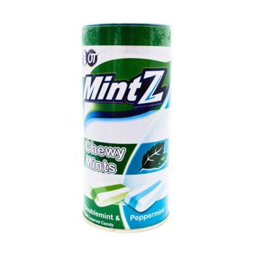 Mintz Festive Chewy Candy Doublemint & Peppermint, 103 Gram