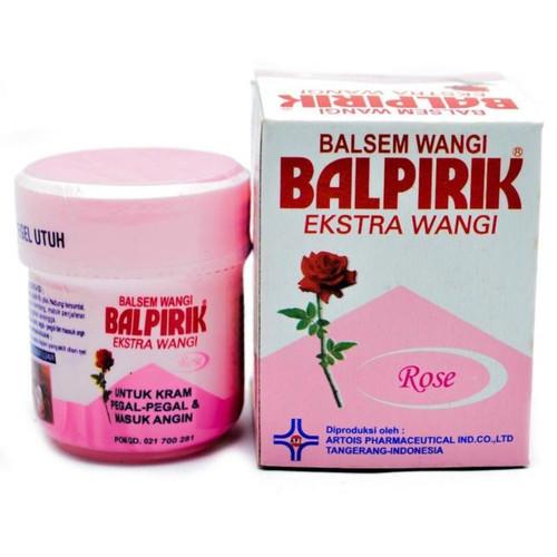 Balpirik Balsem Wangi Aromatherapy Rose, 20 Gram