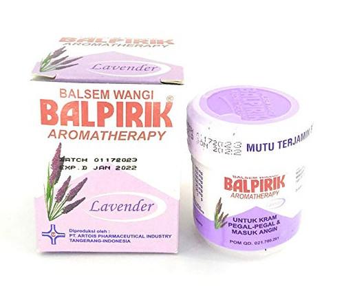 Balpirik Balsem Wangi Aromatherapy Lavender, 20 Gram