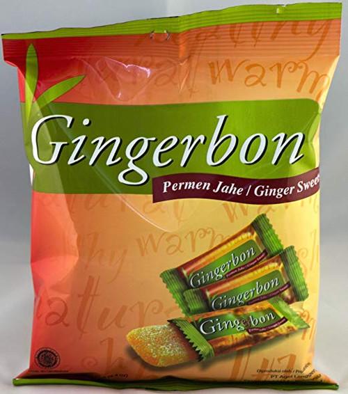 Gingerbon Ginger Sweets Chews Permen Jahe Original 125g
