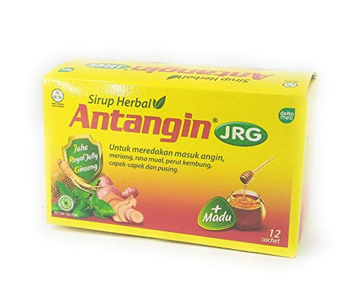 Antangin JRG Herbal Syrup 12-ct, 180 Ml