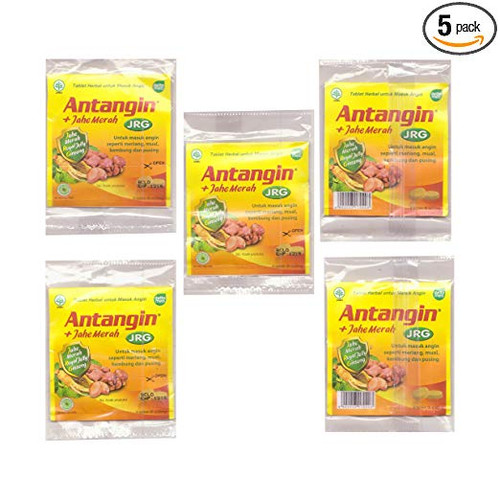 Antangin JRG Herbal Tablet (5 Strips)
