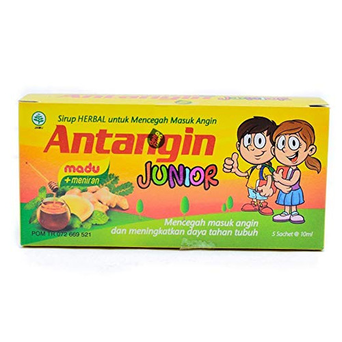 Antangin Junior Herbal Syrup 5-ct, 50 Ml