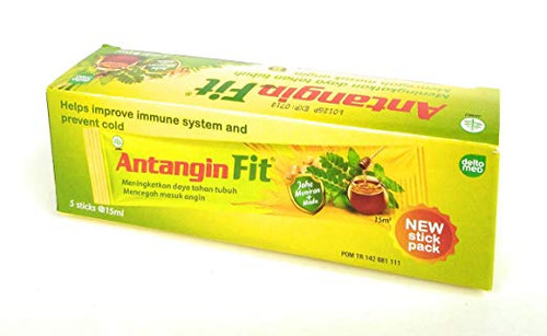 Antangin Fit Herbal Syrup 5-ct, 75 Ml