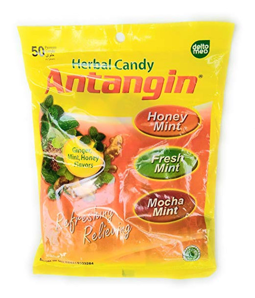 Antangin Herbal Asorted Candy (Ginger, Mint and Honey), 100 Gram