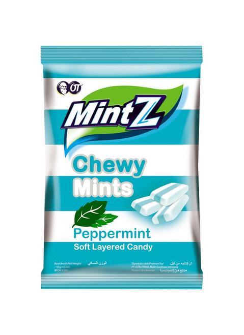 Mintz Chewy Candy Peppermint, 125 Gram