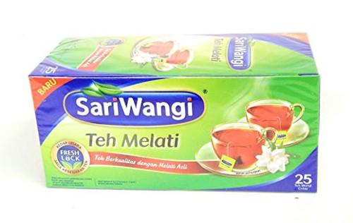 Sariwangi Teh Melati - Jasmine Tea 25-ct, 47.5 Gram