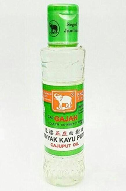 Cap Gajah Minyak Kayu Putih - Elephant Brand Cajuput Oil, 120ml