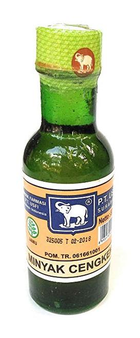 Cap Gajah (Elephant Brand) Minyak Cengkeh Clove Oil, 50 ml