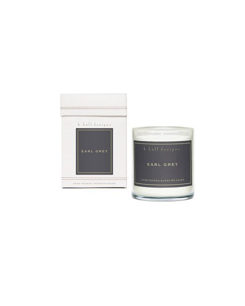 Earl Grey Boxed Candle