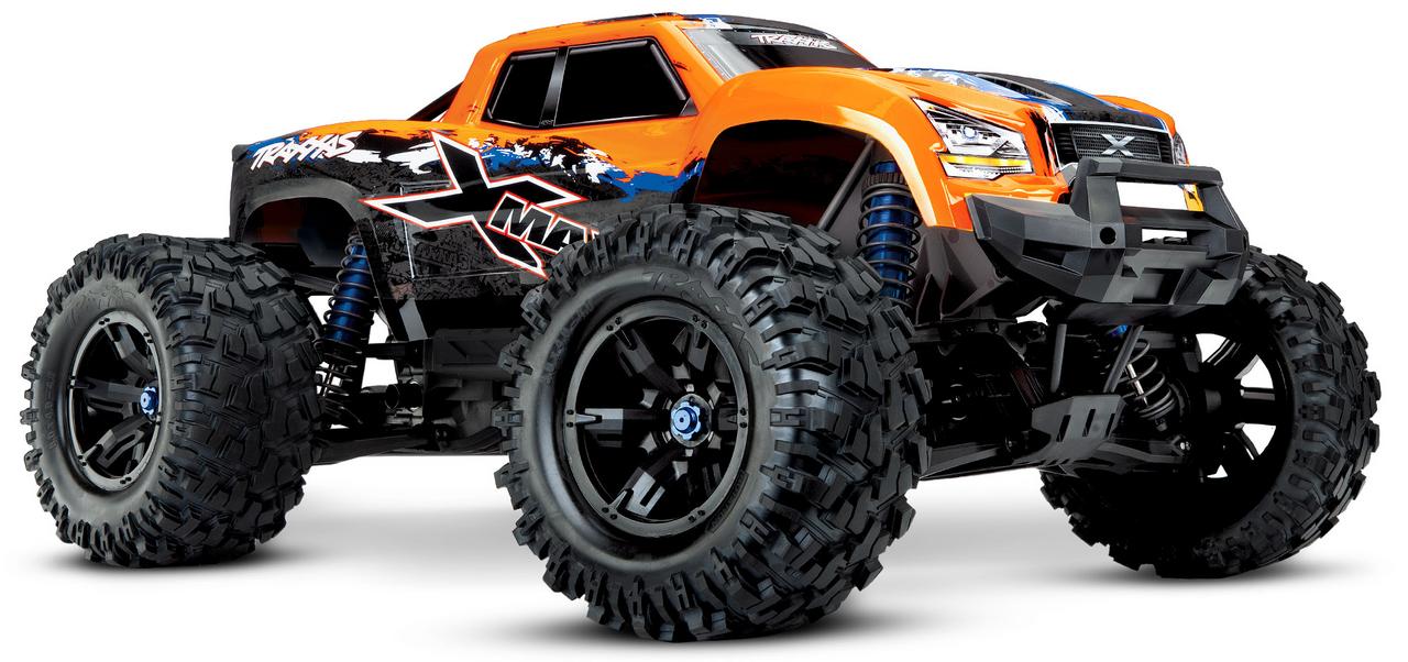 Traxxas 77086-4 X-Maxx 8S 4WD RTR RC Monster Truck - ORANGE X