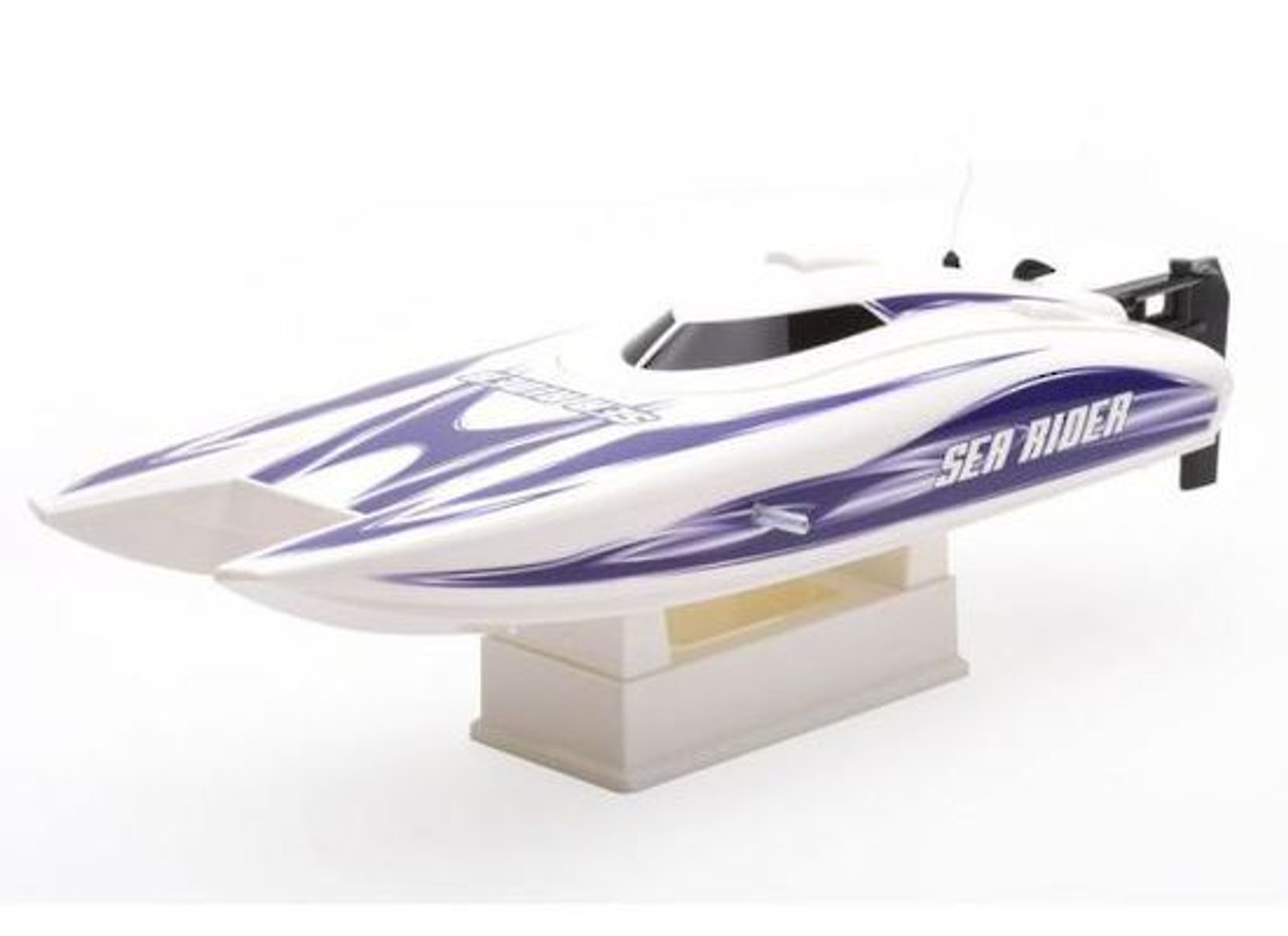 Joysway J8208 Sea Rider V4 Offshore Lite 2 4ghz Rtr Mini Catamaran Rc Speed Boat