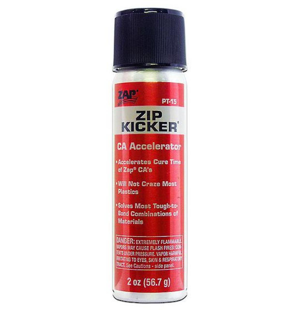 ZAP PT15 Zip Kicker CA Glue Accelerator Spray 56 7g