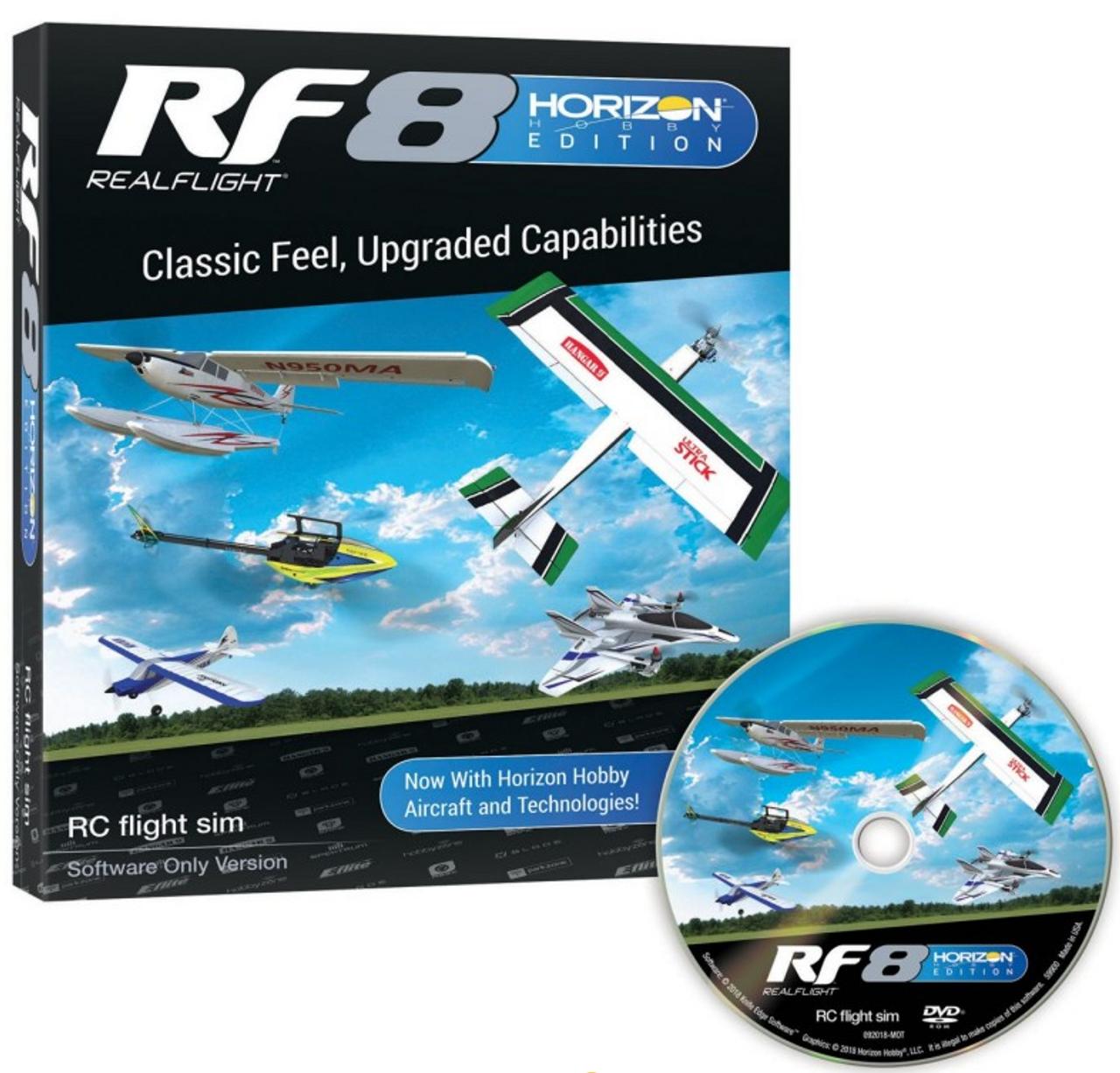 RealFlight 8 Flight Simulator - Horizon Hobby Edition (Software Only)