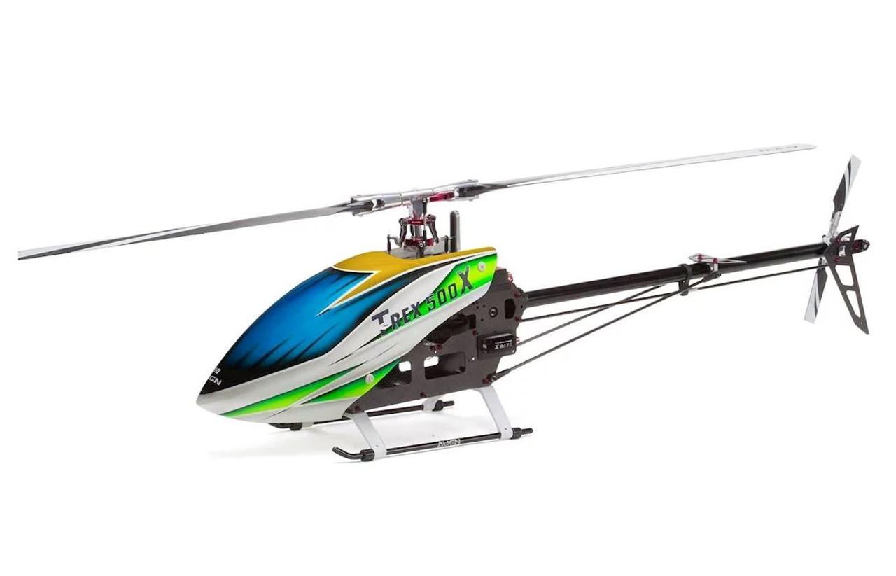 ALIGN TREX 500 TAIL BOOM ASSEMBLY FOR BELT DRIVE C//W PITCH ROD /& SERVO MOUNT