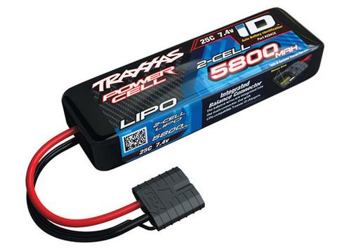 Traxxas 2843X - 5800mAh 7.4v 2-Cell 25C LiPo Battery