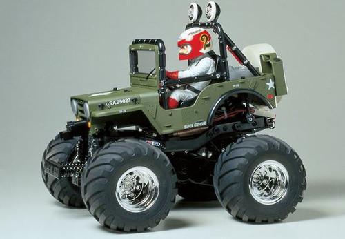 Tamiya 1/10 WR-02 Wild Willy 2000
