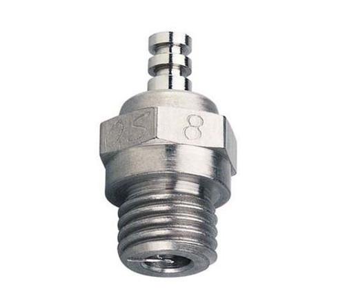 O.S. #8 Glow Plug Long Medium Air/Car