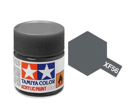 XF56 Tamiya 10ml Acrylic Paint: Metallic Grey