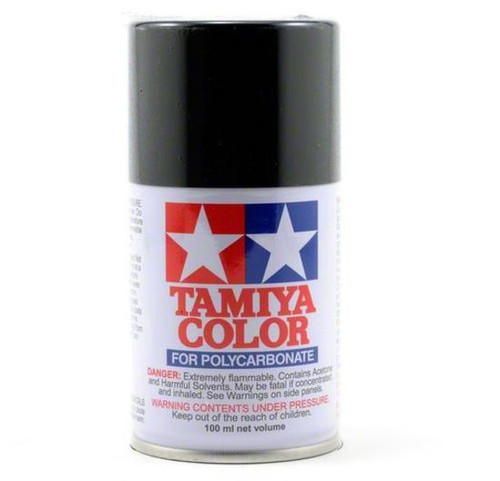 PS-5 Tamiya 100ml Polycarbonate Spray Paint: Black