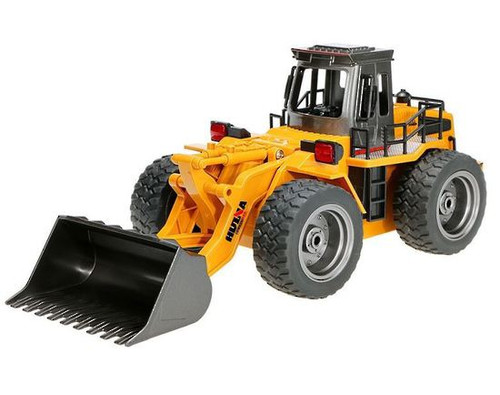 Huina 1/18 2.4G 6Ch RC Loader with die-cast bucket