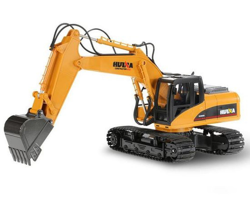 Huina 1/14 2.4G 15Ch RC Excavator Digger with die-cast bucket