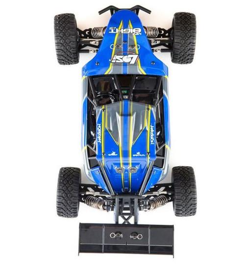 Losi LOS01009T2 1/14 Mini 8IGHT-DB 4WD Buggy RTR, Blue