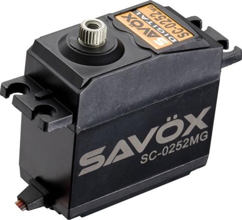 Savox SC-0252MG Metal Gear Digital Servo 10.5KG 0.19Sec