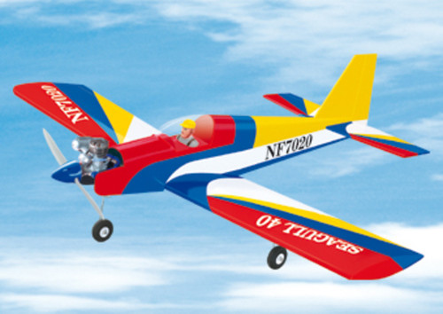 Seagull SEA10 40 Low Wing  Trainer Size .40-46 2 stroke span 1530mm