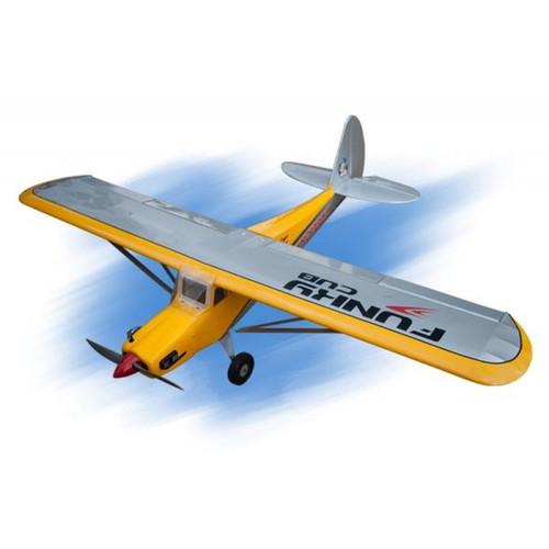 Seagull SEA254Y Funky Cub 10-15cc -SEA254 ( floating optional) yellow/silver Span 180cm Engine 10-15cc