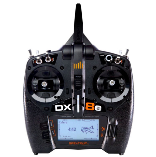DX8e - Spektrum SPMR8100 8 Channel DSMX Transmitter Only