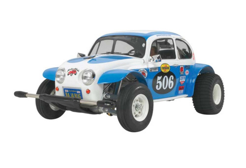 Tamiya 1/10 Sand Scorcher 2010 2WD VW Bug Racer RC Car Kit 58452