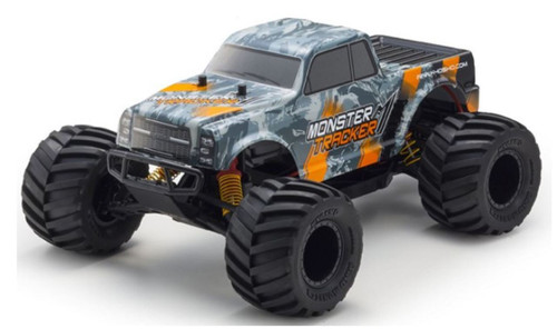 Kyosho 34403T2B Monster Tracker 1/10 2WD RC Moster Truck, Orange
