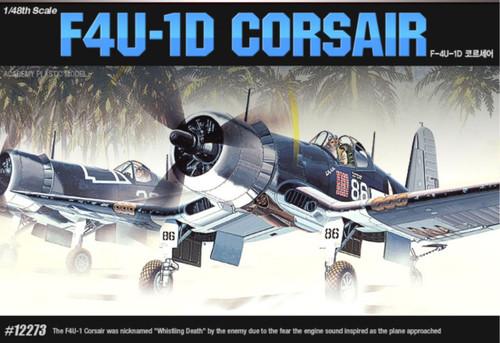 Academy 1/48 Corsair F4U-1D Plastic Model Aircraft