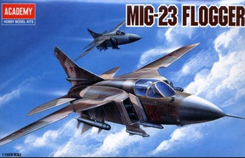 Academy 1/144 M-23 Flogger Plastic Model Aircraft kitset