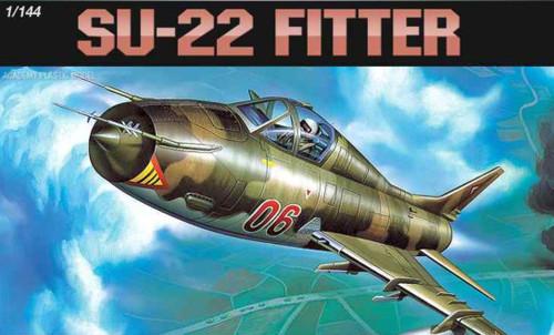 Academy 1/144 SU-22 Fitter Plastic Model Aircraft kitset