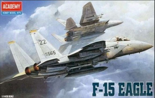 Academy 1/144 F-15C Eagle Plastic Model Aircraft kitset