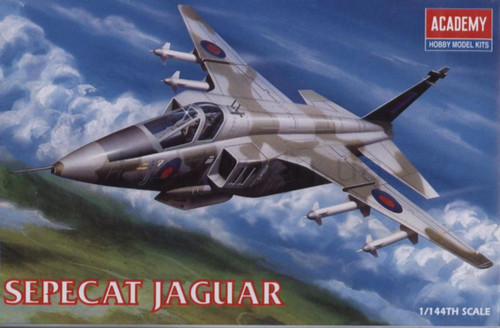 Academy 1/144 Sepecat Jaguar Plastic Model Aircraft kitset