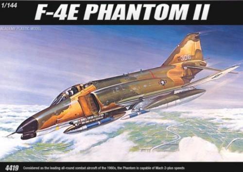Academy 1/144 F-4E Phantom II Plastic Model Aircraft kitset