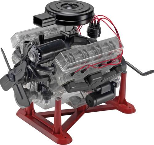 Revell 1/4 Visible V8 Engine Plastic Model Kit