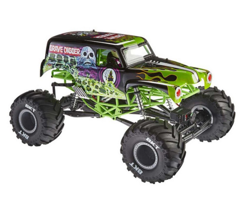 Axial AXID9055 1/10 SMT10 Grave Digger Brushed RC Monster Jam Truck 4WD RTR