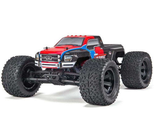 Arrma 1/10 Granite VOLTAGE 2WD Brushed RTR RC Monster Truck Red 40kph+