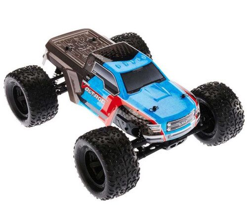 Arrma 1/10 Granite VOLTAGE 2WD Brushed RTR RC Monster Truck Blue 40kph+