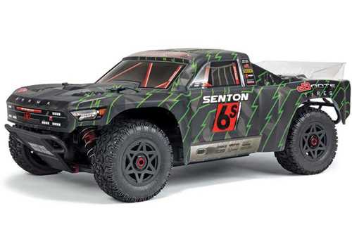 Arrma 1/10 Senton 6S BLX 4WD RC Short Course Truck Blue 96kph+