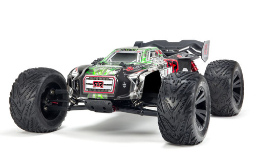 Arrma 1/8 Kraton 6S BLX 4WD RC Speed Monster Truck Green 96kph+ ARAD81LG