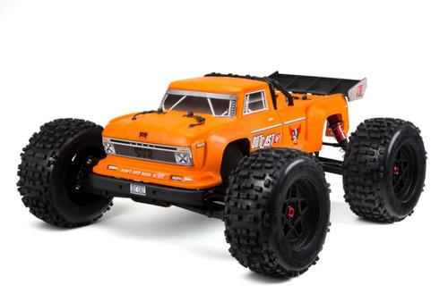 Arrma 1/8 Outcast BLX 6S 4WD RC Monster Stunt Truck Orange ARAD84NW